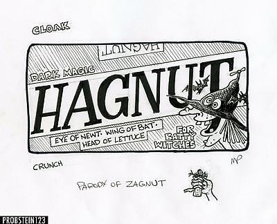 2010 Topps Wacky Packages Old School 2 Rough Art Hagnut