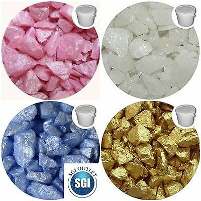 Various Colours Stone Beads Table Decoration Garden Craft Wedding