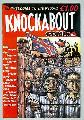 Knockabout Comix #6 FN UK edition