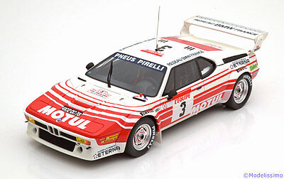 1:18 Otto BMW M1 Group B #3, Tour de Corse 1983 Motul