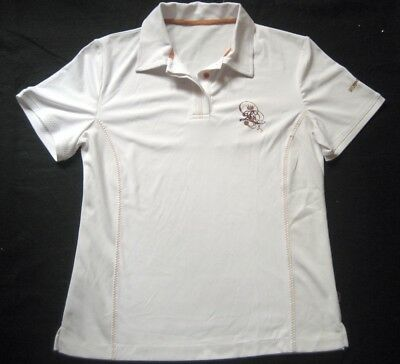 LIMITED SPORTS Damen Poloshirt / Weiß / Gr. 42 / NEU