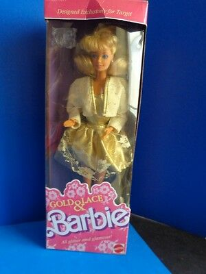 1989 Gold & Lace Barbie -Target Exclusive Nrfb