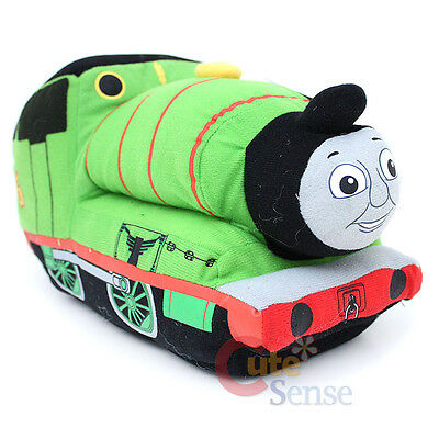 "Thomas Tank Friends Percy Plush Cuddle Pillow Cushion XL 20"" Jumbo Plush Doll"
