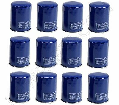 Union Sangyo OEM Oil Filter for Honda & Acura 15400-PLM-A01 12-Pcs