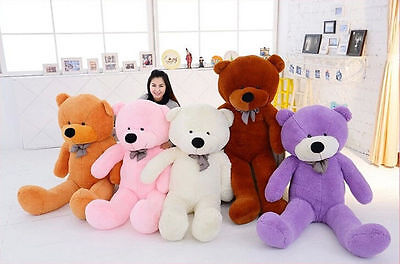 80cm-200cm Giant Big Cute Plush Stuffed Teddy Bear Soft 100% Cotton Toy