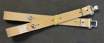 clip dorsal for straps'accordion - belts clip Metal. Colour leather