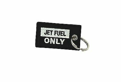 Insert after flight leychain key ring tag luggage Remove before jet fuel only A1