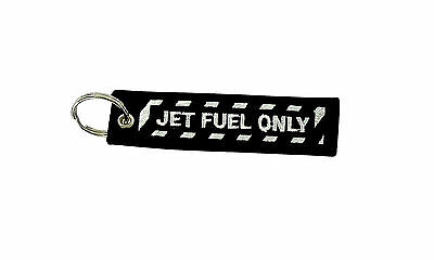 Insert after flight keychain tag Remove before aviation jet fuel only moto