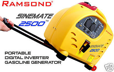 Ramsond Sinemate 2500 Watt Digital Inverter Generator