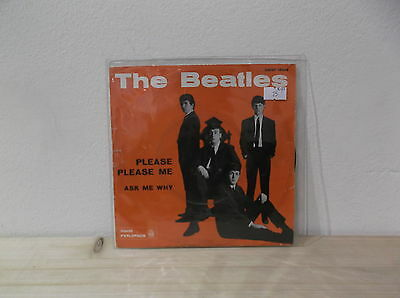 "BEATLES ‎Please please me/Ask me why 7"" VG+/VG  ITA"