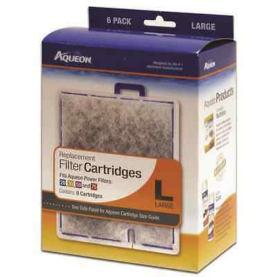 Aquarium Aqueon Cartridge Large 6 Pack