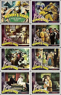THE MUMMY'S HAND TOM TYLER FORAN Full Set Of 8 Individual 8x10 LC Prints 1940