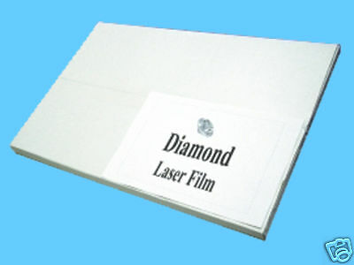 "Diamond Laser Polyester Film 8.5 x 14"" for Screen printing & Plate Burning"