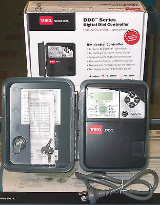 Irrigation Controller Toro DDC 6 Stations Outdoor