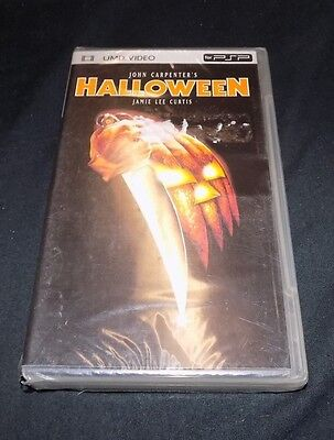 JOHN CARPENTER'S Halloween UMD for PSP Jamie Lee Curtis BRAND NEW FACTORY SEALED