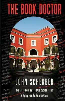 The Book Doctor by John Scherber (English) Paperback Book Free Shipping!