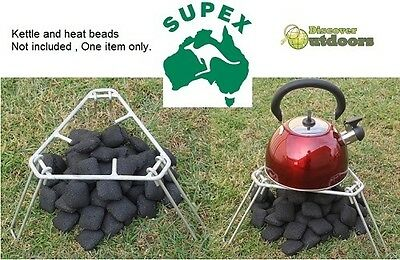 New Supex Multipurpose Camping Tripod - Cooking fire