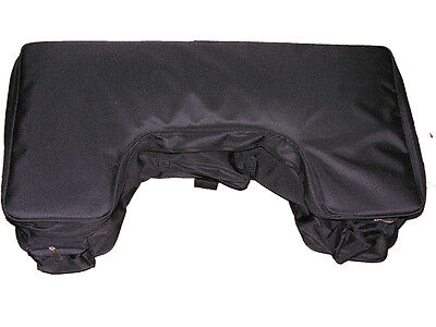 REAR Luggage Cargo Bag with Velcro Holding Straps for RACK ATV Quad