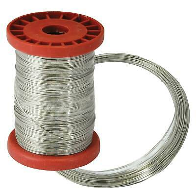 Bike-It Stainless Steel Lock Wire 0.7mm 30m,For Lock Wire Pliers & Secures Grips