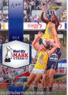 2015 AFL The Ultimate Collection UC6 2015 Mark of the year Nic Naitanui