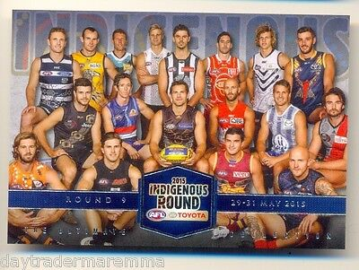 2015 AFL The Ultimate Collection UC10 2015 Indigenous Round