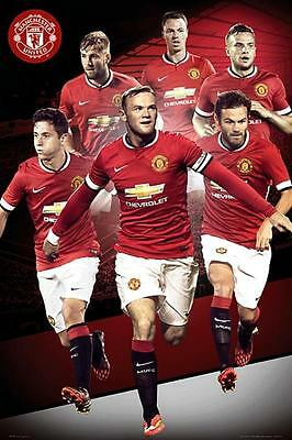 Manchester United Players 2012-13 Maxi Poster 61cm x 91.5cm new and sealed