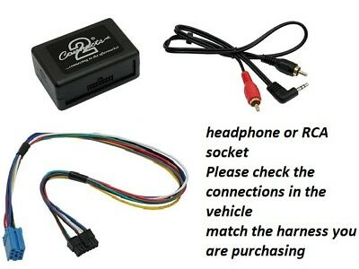 Ctvpgx010 Peugeot 206 2002 Onwards Vdo Clarion Rd3 Oem Radio Aux Adapter
