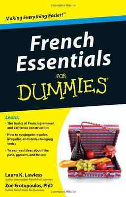 French Essentials for Dummies - Paperback NEW Laura K. Lawles 2011-06-07