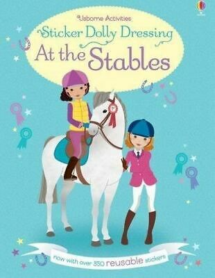 Sticker Dolly Dressing at the Stables by Lucy Bowman (New Paperback Book)