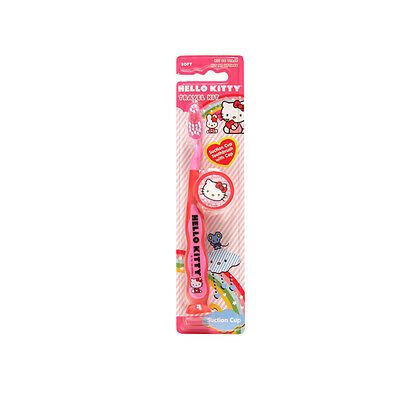 Hello Kitty Kinderzahnbürste Travel Kit mit Saugfuß
