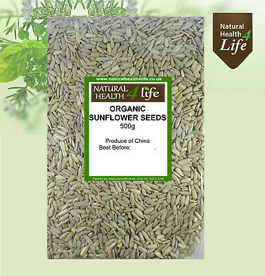 Organic Sunflower Seeds Weights from 25g to 25kg Post Free