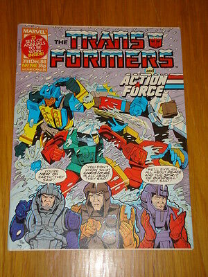 Transformers British Weekly #198 Marvel Uk Comic 1988