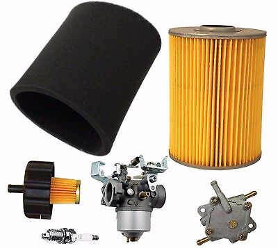 Yamaha G2 G9 G11 4 Cycle 85-94 Gas Golf Cart Tune Up Kit Carburetor Fuel Pump
