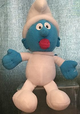 The Smurfs 14 Inch Baby Smurf Soft / Plush Toy By Play By Play