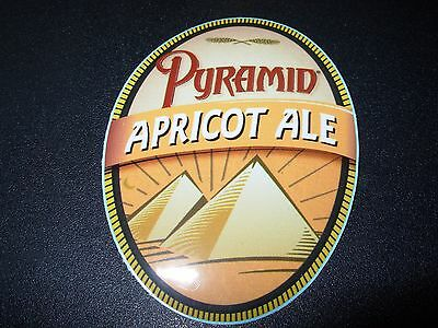 PYRAMID Apricot Ale STICKER decal craft beer brewery brewing