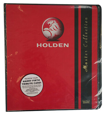2014 Holden series 3 Collector album and redemption for Harry Firth tribute card