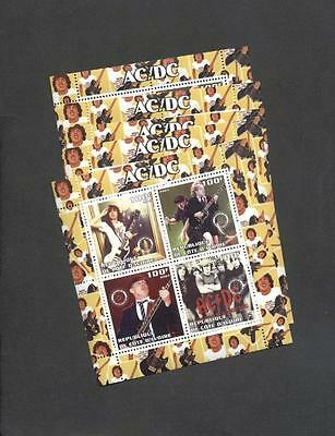 (927041) 5x AC/DC, Popstars, Small lot, Private / local issue