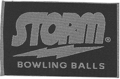 Storm Woven Navy/Silver Bowling Ball Towel