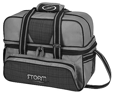 Storm Charcoal/Plaid 2 Ball Deluxe Bowling Bag
