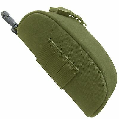 Condor 217 OD Green PALS MOLLE Goggle Sunglasses Eyeglasses Glasses Case Pouch