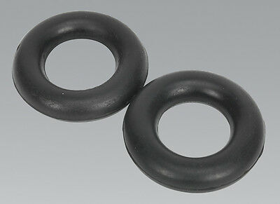 Sealey EX04 Exhaust Mounting Rubbers - L59 x W59 x D13.5 (Pack of 2)