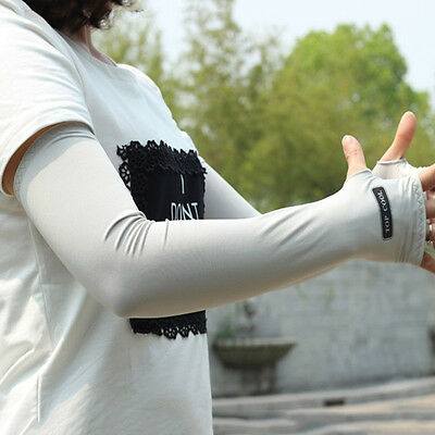 Hot Men Women Bike Arm Warmers Outdooor Cycling Sun Protection Sleeves Cover
