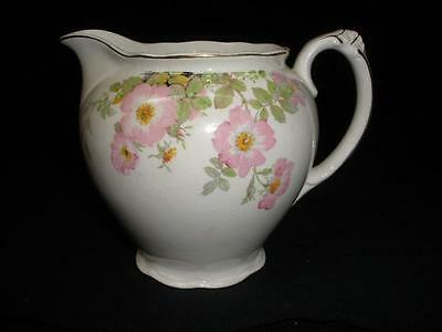 Retro Vintage Porcelain Jug Imperial Ware 'sweet Briar' Made In England