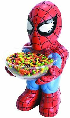 MARVEL HEROES SPIDER MAN CANDY BOWL HOLDER RUBIES NEW IN BOX #sfeb16-276