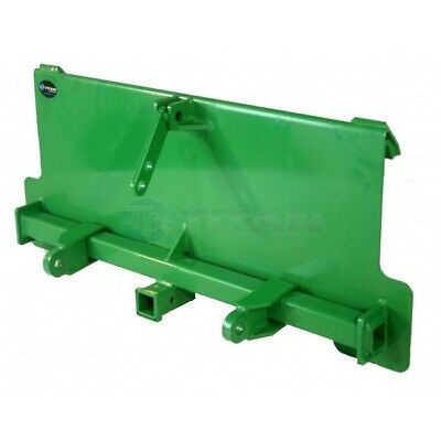3 Point Attachment Adapter fits John Deere trailer hitch series tractor loader