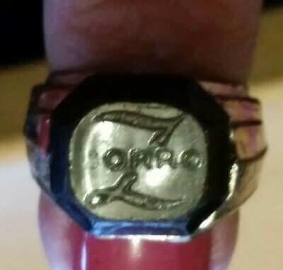 Disney Zorro Television Show Guy Williams Premium Gumball Machine Ring 1950's