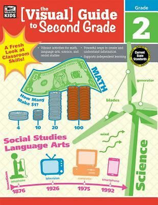 The Visual Guide to Second Grade by Paperback Book (English)