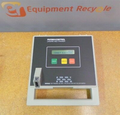Physio-Control Life Pak AED Trainer EMS Training Reference Card Case