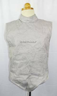 New Men's or Women's  Absolute Fencing Gear Foil Lame w/ Back Zip #41001 Size 40