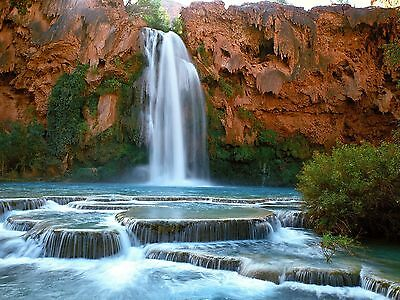 Waterfall 8X10 Glossy Photo Picture Image #3